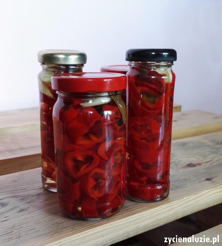 Papryczki chili w occie